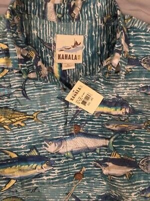 Kahala 1936 Hawaiian Shirt Large Short Sleeve NEW