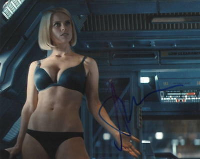 Hot Sexy Alice Eve Signed 8X10 Photo Authentic Autograph Star Trek Coa C