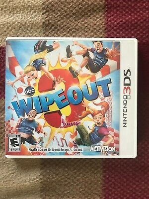 Wipeout 3 (Nintendo 3DS, 2012) With Case + Manual