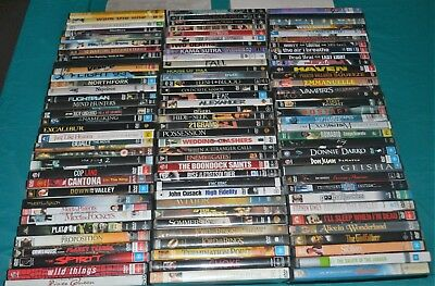 DVD's Bulk Lot, 103 pcs, Assorted Movies/Titles, Selling in As Is Condition