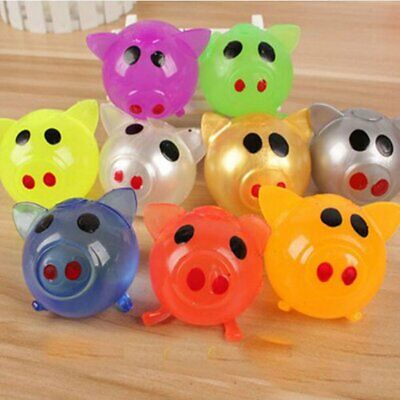 Anti-stress Decompression Splat Ball Venting Toy Smash Funny Pig Toys Gift
