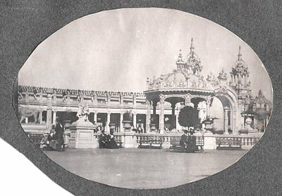 Vintage 1901 Buffalo New York Pan American Exposition Electric Towers Old Photo