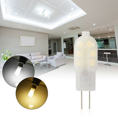 10x DC 12V G4 Bi-Pin LED Light Capsule Bulb Lamp Energy Saving Warm/Cool White