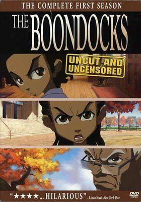 BOONDOCKS Complete First Season SEALED 3-Disc DVD BOX SET Animated TV Show 1st 1