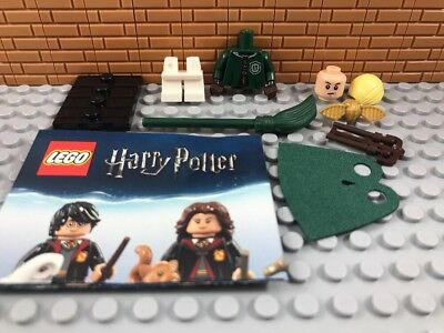 Minifigure #4 Quidditch LEGO Harry Potter Series 1 71022 Draco Malfoy