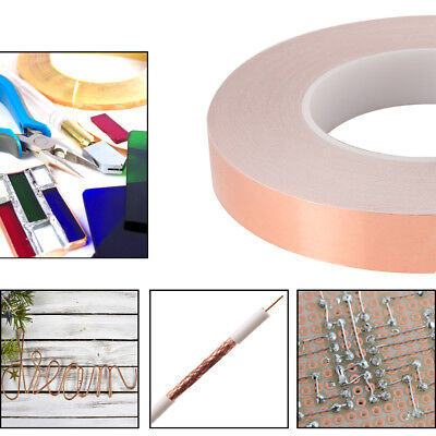 EMI Shielding Copper Foil Tape 6mm 20mm Rolls with Conductive Adhesive TH1047
