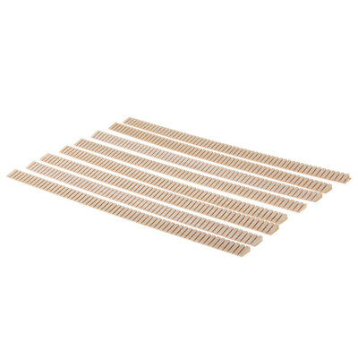 8pcs Wooden Acoustic Guitar Inner Edge Strip Trim Inlay DIY Luthiers Tools