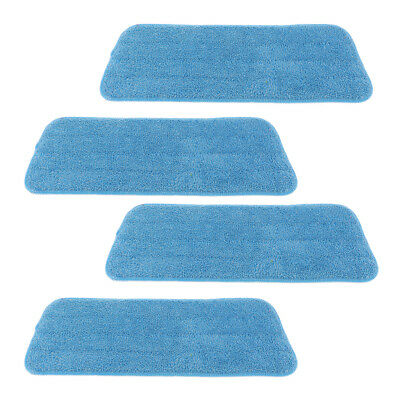 4pcs Microfiber Mop Pad Replacement Dry Dust Sweeping Pads Cloth 41x14cm