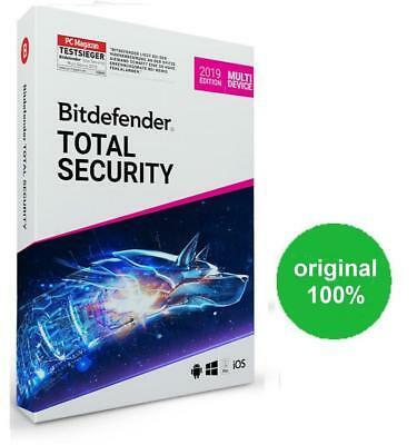 Bitdefender Total Security Multi-Device 2019  5 dispositivi
