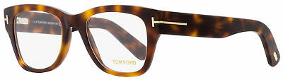 c0df4848cfa21 TOM FORD SQUARE Eyeglasses TF5379 005 Black Havana 51mm FT5379 ...