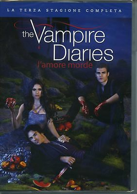 |5051891091825| The Vampire Diaries Stg.3 L'Amore Morde (Box 5 Dvd)  [DVD x 5]