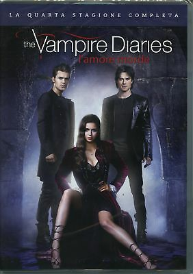|5051891107434| The Vampire Diaries Stg.4 L'Amore Morde (Box 5 Dvd)  [DVD x 5]