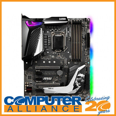 MSI S1151 ATX MPG Z390 Gaming Pro Carbon DDR4 Motherboard