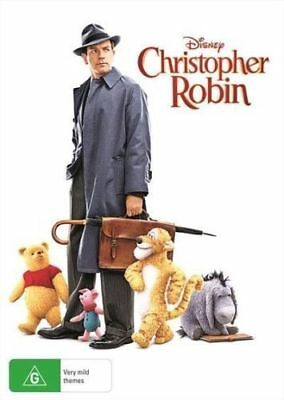 Christopher Robin (DVD, 2018) BRAND NEW and SEALED Region 4