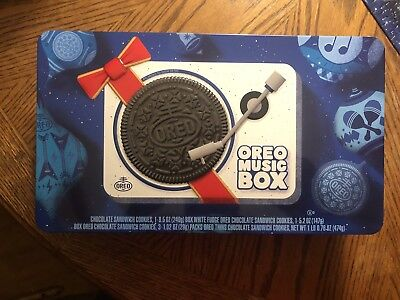 Oreo Music Box Player - Cookie Record Collectible - Holiday Gift