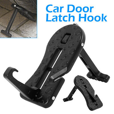 Folding Car Door Latch Hook Step Foot Pedal Ladder for Car Jeep SUV Truck Roof