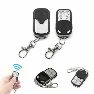 Universal Key Fob Remote Control Gate Garage Door Roller Shutter 433mhz SP