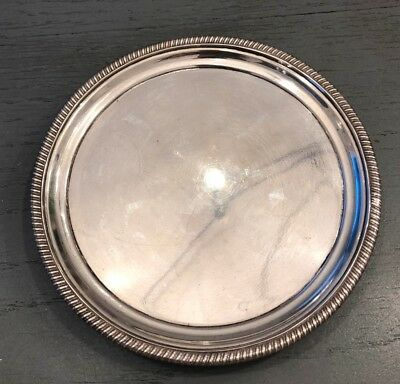 Sterling Silver George III Dish Marked London 1803 Makers Mark R&S Hennell
