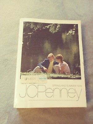 1978 Vintage JC Penny Spring /Summer Annual Catalog