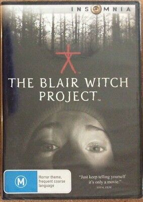 The Blair Witch Project DVD - NEW & Sealed - Region 4