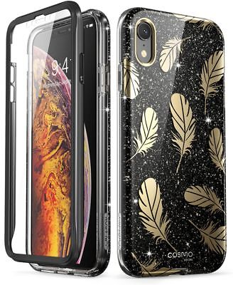iPhone Xs Max 6.5 Case, i-Blason Cosmo Full-Body Glitter Bumper Cover for iPhone