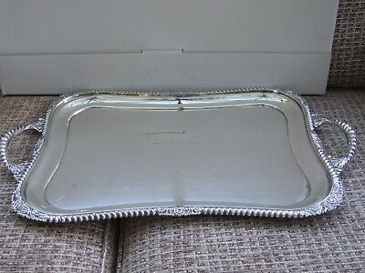 Beautiful EPNS Silver Tray - perfect for Silver Service.