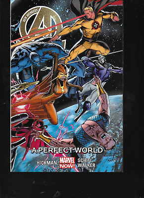 New Avengers Vol 4: A Perfect World by Hickman & Schiti 2015 TPB Marvel Now