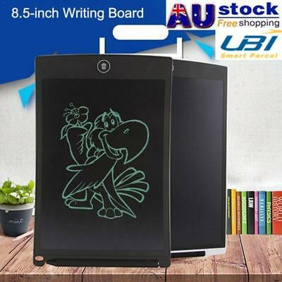 """8.5"""" Kids Digital LCD Writing Drawing Tablet Pad Graphic eWriter Boards Notepad"""