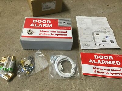 HOYLES EX104R Exitguard Door Alarm Red Battery Operated *NEW OLD STOCK*