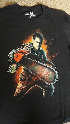 Ash vs Evil Dead Shirt NEU gr. L Army of Darkness Groovy Horror