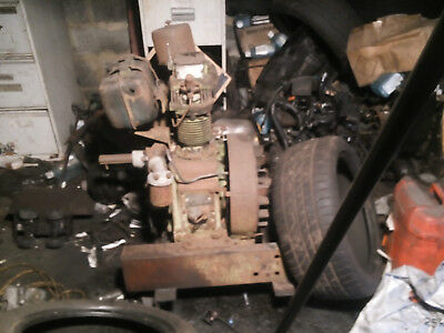 lister petter diesel engine  spares or repairs. no2