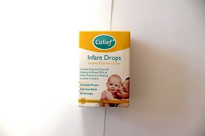 Colief Infant Drops Lactase Enzyme Drops Food Supplement For Babies - 7ml