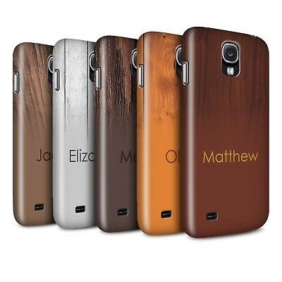 Personalised Custom Wood Grain Effect Matte Case for Samsung Galaxy S4/SIV