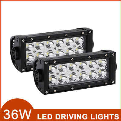 8Inch Cree 72W 72Watt Led Light Bar Work 4Wd Ute Offroad Truck Tractor Jeep