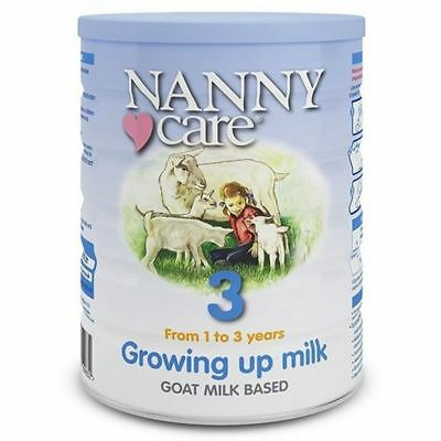 Nanny Care Stage 3 Growing Up Milk 1 to 3 Years Goats Milk 400g