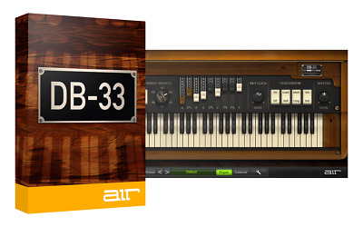 AiR Music Technology DB-33 Organ (VST/AU) iLok License