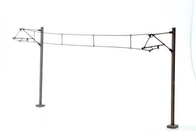 Dapol Catenary Wires 177mm Pack of 10 - OO Gauge - OOWIRE3