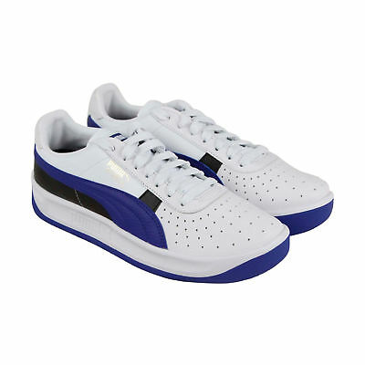 PUMA GV SPECIAL White Navy Blue Leather Retro Classic Mens Sneakers ... 6b3a4cfc4