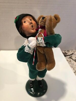 2000 Byers Choice Child with Toy Caroler 10 inch