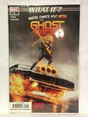 What If? Marvel Comics Went Metal with Ghost Rider #1 NM- 1st Print Marvel Comic