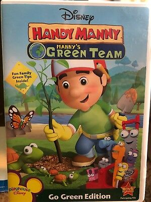 Disney Handy Manny:  Manny's Green Team DVD FREE SHIPPING