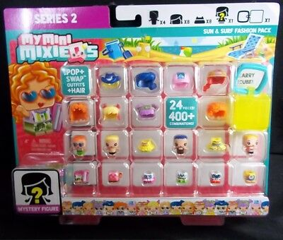 New My Mini MixieQ/'s Sun /& Surf Fashion Pack Mystery Figure Mixieqs Official