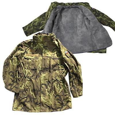 Czech army surplus lined woodland camouflage type 95 parka