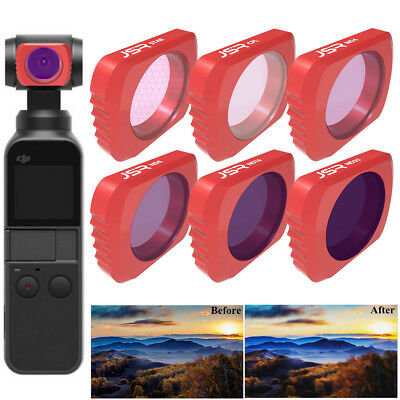 CPL UV STAR ND4 ND8 ND16 ND32 ND64 Filter Optical Glass for DJI OSMO POCKET Cam