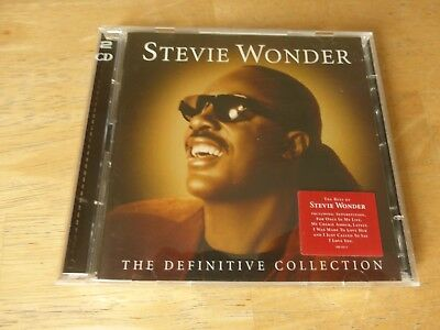 Stevie Wonder ‎– The Definitive Collection - 2 CD Set ( Superstition / Lately )