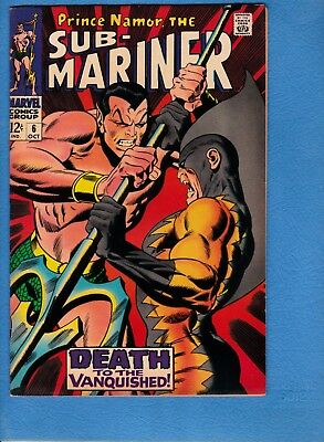 Sub-Mariner #6, 1968, VF/NM 9.0, Tiger Shark cover and 2nd appearance