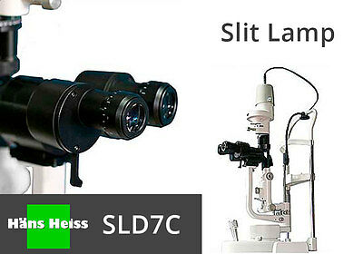 Slit Lamp HANS HEISS SL7DCL Led (X2) Magnifications with 1 Year Warranty