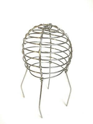 """Gutter Down pipe leaf guard wire balloon 63 mm (2.5"""") Stainless Steel"""