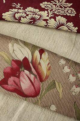 Antique Vintage French textiles  ~ Project Bundle + striated homespun ~ Lovely