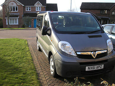 Vauxhall Vivaro COMBI 2900 disabled adapted vehicle by Gowerings